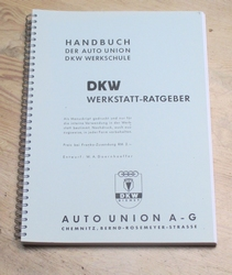 Handbuch Werkstatt Ratgeber. Kopievorm.