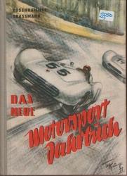 Boek 'Das neue Motorsport Jahrbuch'.