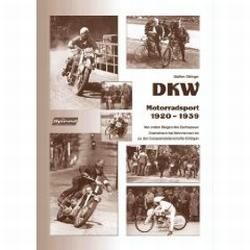 Boek 'DKW - Motorradsport 1920 bis 1939'.
