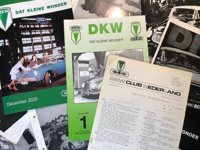 Alle DKW clubbladen nu terug te lezen.