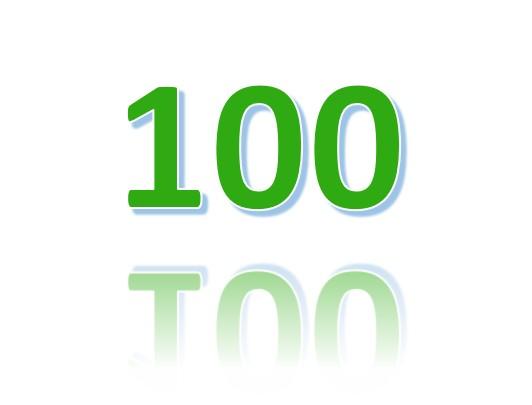 Lidnummer 2021 100 uitgegeven